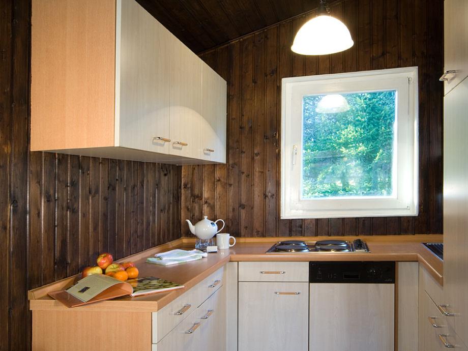 Küche der Forsthütte