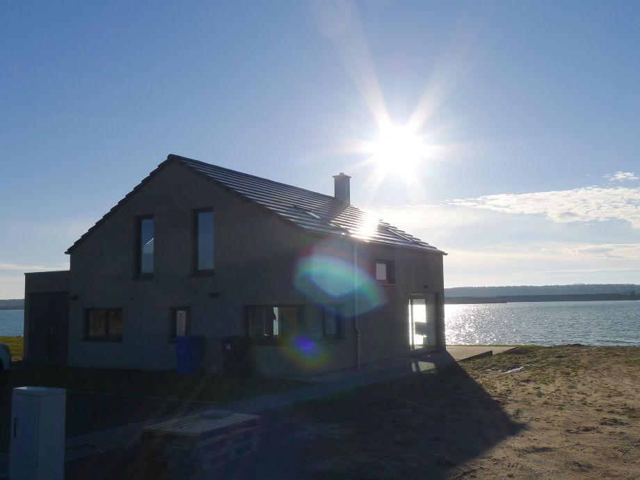 Ferienhaus Haus am See Nordic Leipzig Familie Mathias