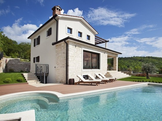 Villa royal blue istrien firma adria luxury rent d o o for Villa royale