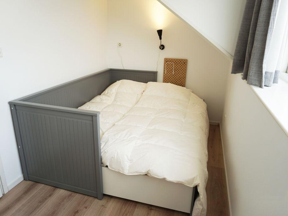 Schlafzimmer 3 - Von 1 Bett nach Doppelbett.