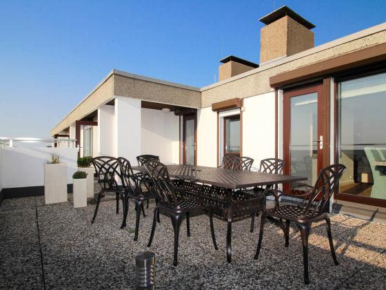 Ferienhaus luxuspenthouse horizonte st peter ording for Firma spiegel