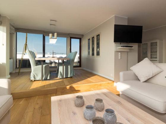 ferienhaus luxuspenthouse horizonte st peter ording firma appartementvermittlung loerke. Black Bedroom Furniture Sets. Home Design Ideas