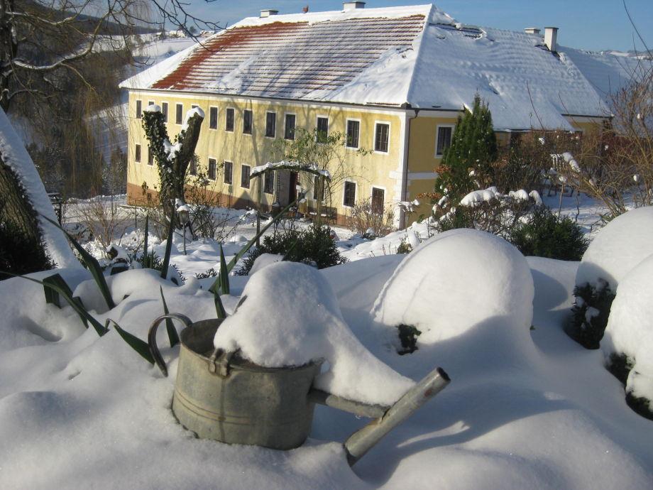 Nussbaumerhof im Winter