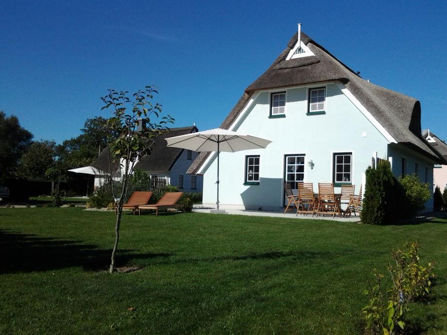 Unser Ferienhaus Silbermöwe mit großer Sonnenterrasse