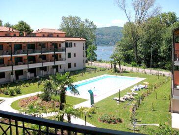 Ferienwohnung Residenza Sasso Moro bilocali mit Terrasse