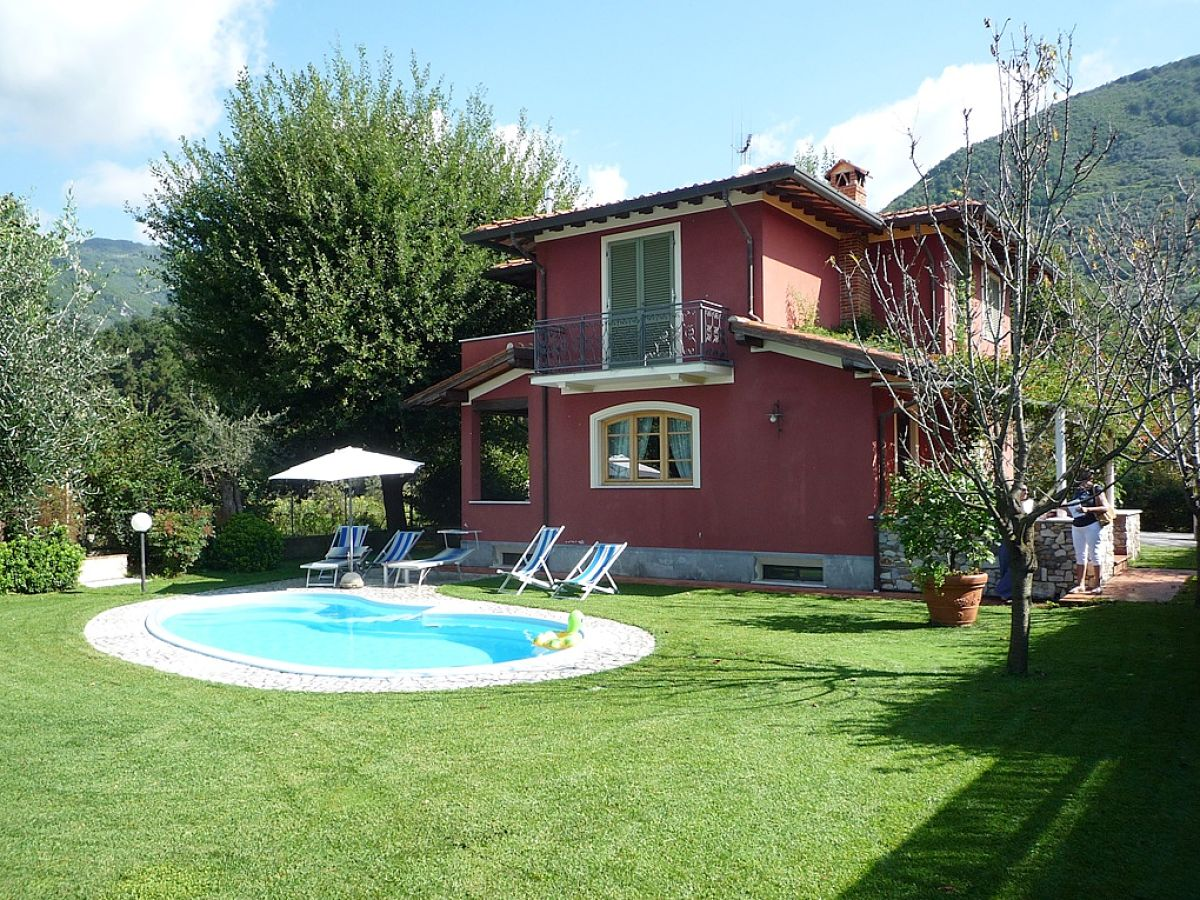 Villa Rossa, Camaiore, Toskana - Firma betuscany SARL - Frau