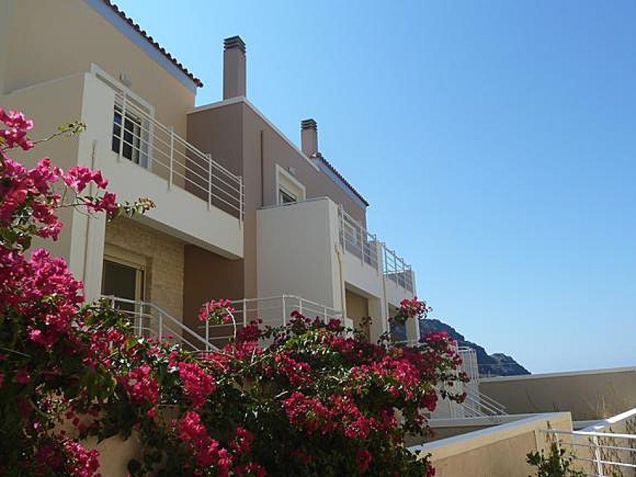 Außenaufnahme Vila Lucia in Plakias