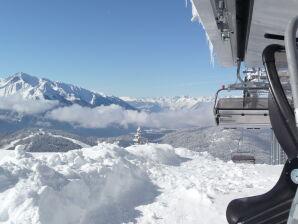 """Ferienwohnung """"Zugspitze"""" im Gästehaus Brigitta - Alpenwelt Karwendel"""