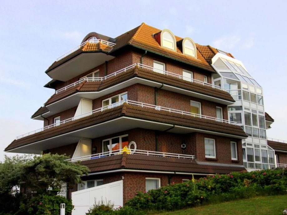 Aussenansicht Haus Strandblick- Aussicht auf die Whg.