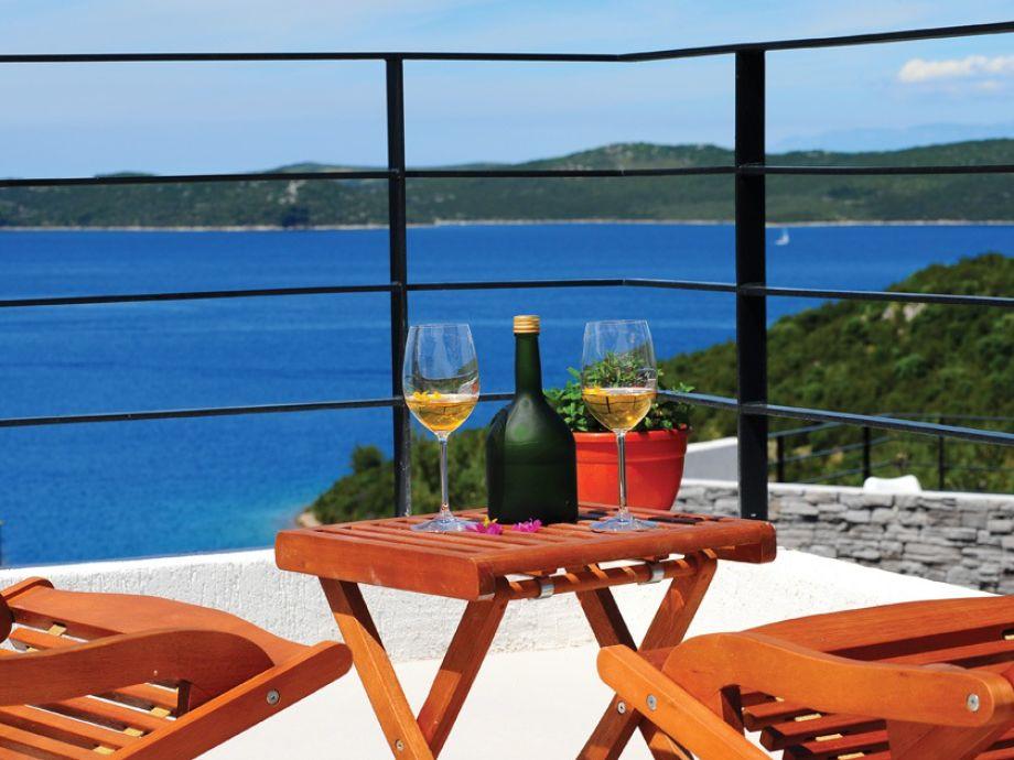 Blick aus Terrasse
