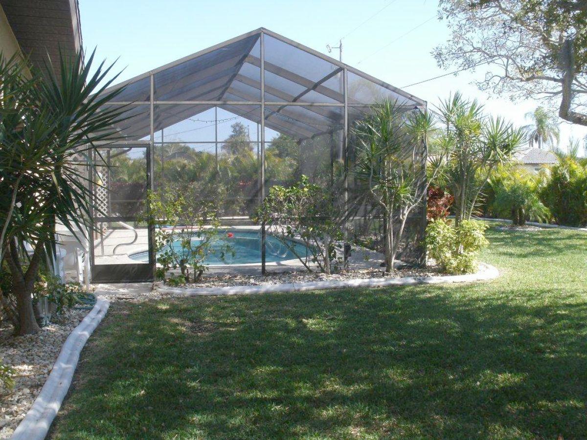 Ferienhaus perfekte lage mit pool cape coral sw florida - Pool und garten ...
