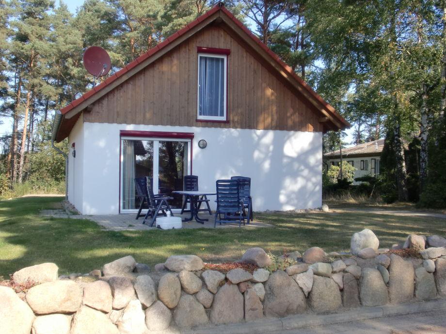 Blick aufs Ferienhaus