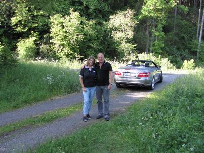 Ihr Gastgeber Hans-Jürgen und Claudia Lenz
