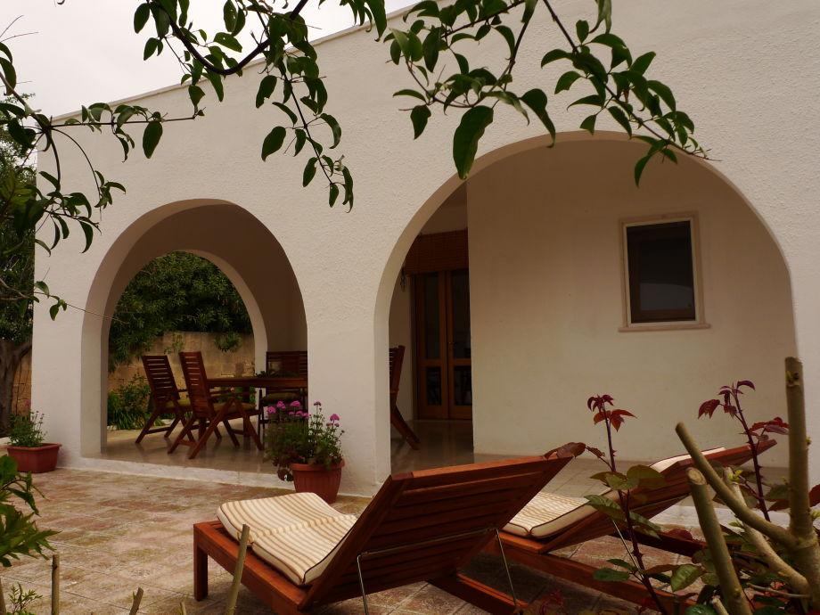 Casa Alba - Westterrasse