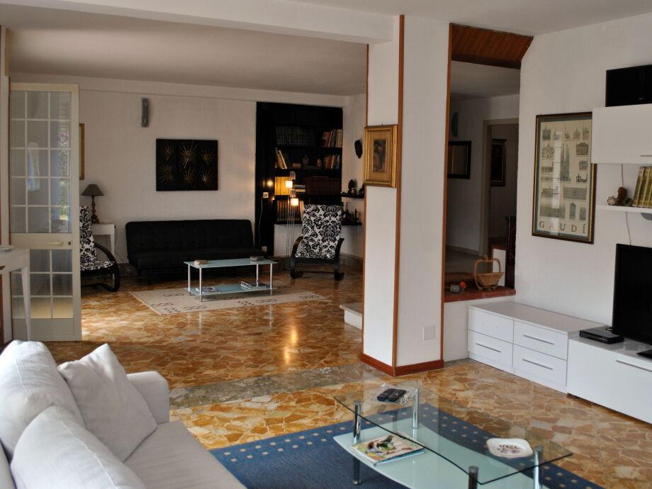Wohn- und Relaxbereich Ferienwohnung Marina