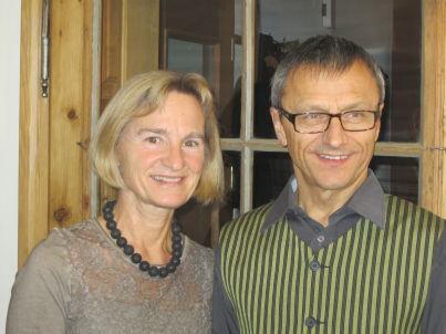 Ihr Gastgeber Franz und Maria Dorrer