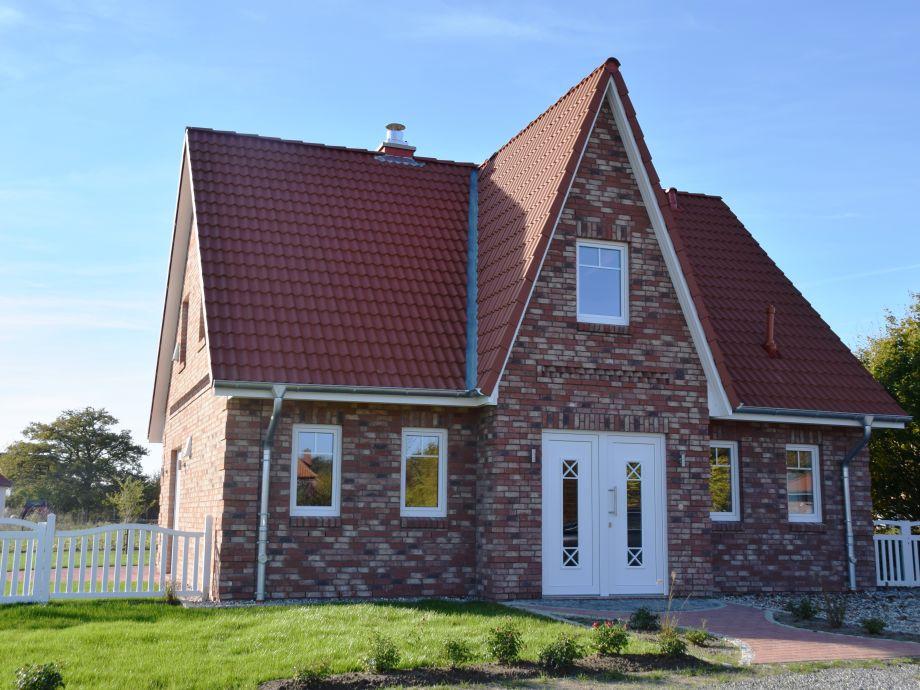 Die Außenansicht des Ferienhaus Ostseebrise