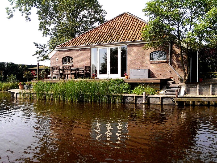 Das Ferienhaus direkt am Wasser