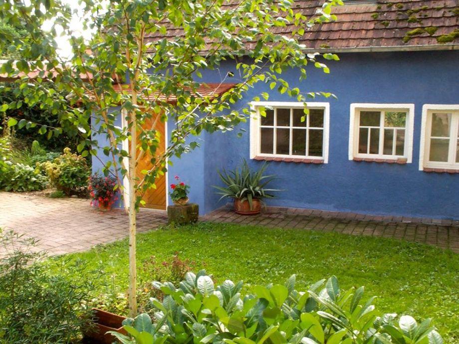 Doncharifa, das blaue Häuschen