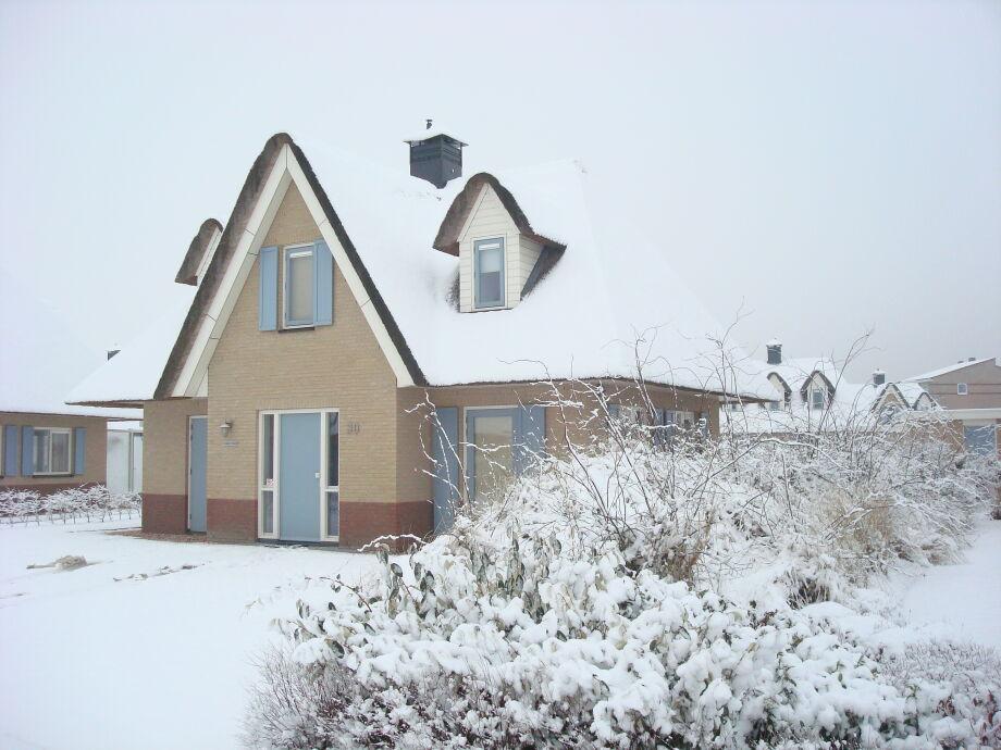 Strandvilla Duynzicht 30 im Winter