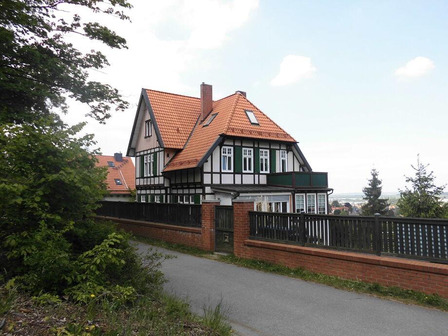 Villa am Wald mit Blick auf Wernigerode