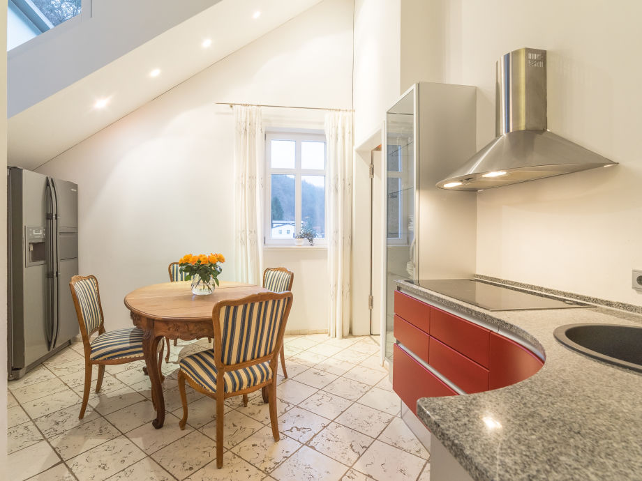 """Küche im Apartment """"Carl Maria von Weber"""""""