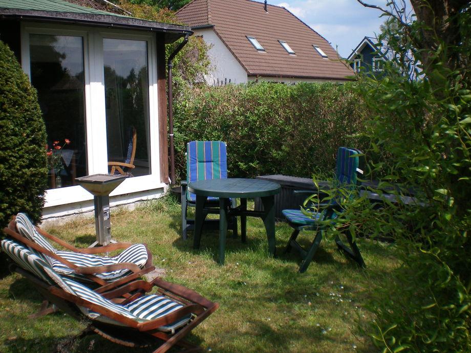Tanken Sie Sonne im Garten