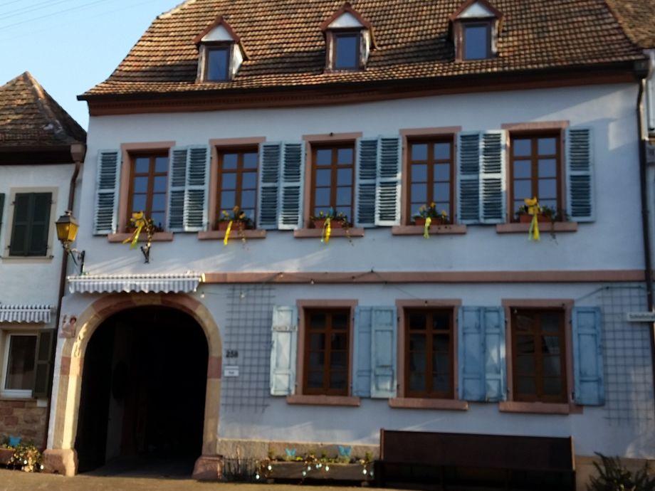 Außenaufnahme Haus Wasmuth