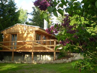 Romantisches Holzhaus