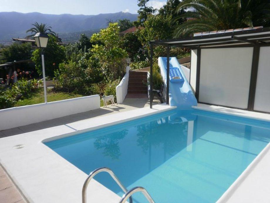 Ferienwohnung buena vista la orotava teneriffa firma finca las toscas s l herr rainer pock - Wasserrutsche fur pool ...