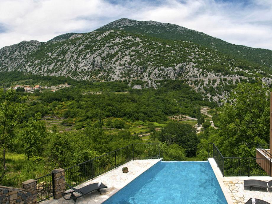 Außenaufnahme Villa Mosor