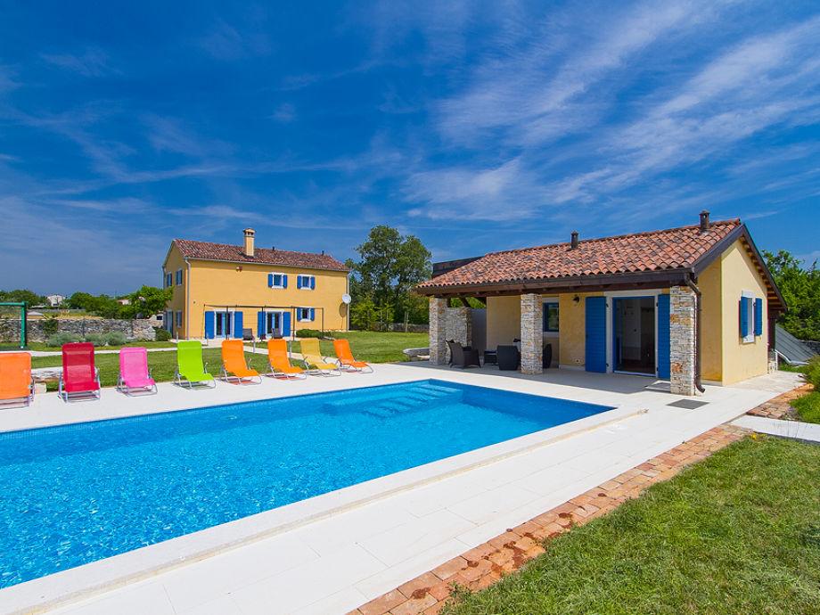 Außenaufnahme Villa Cabri