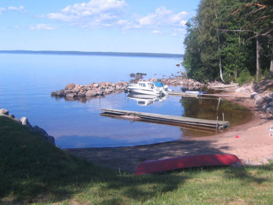 View of lake Skagern