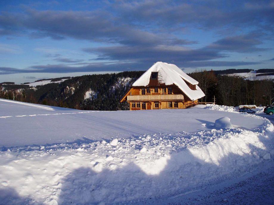 Gästehaus mit Blick nach Breitnau