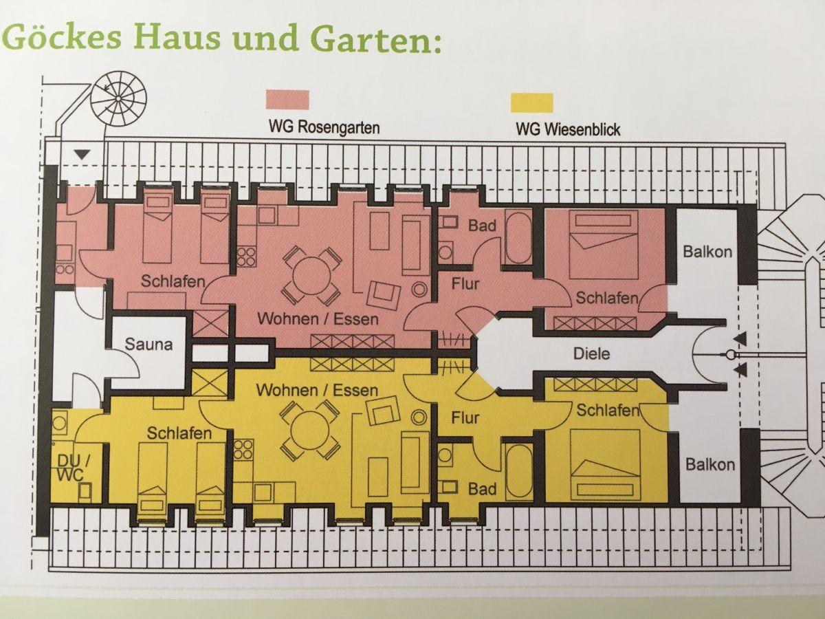 Ferienhaus g cke 39 s haus und garten m nsterland wettringen frau bernadette g cke - Grundriss garten ...