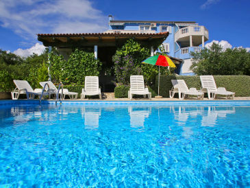 Ferienwohnung mit Meerblick - beheizter Pool und Whirlpool