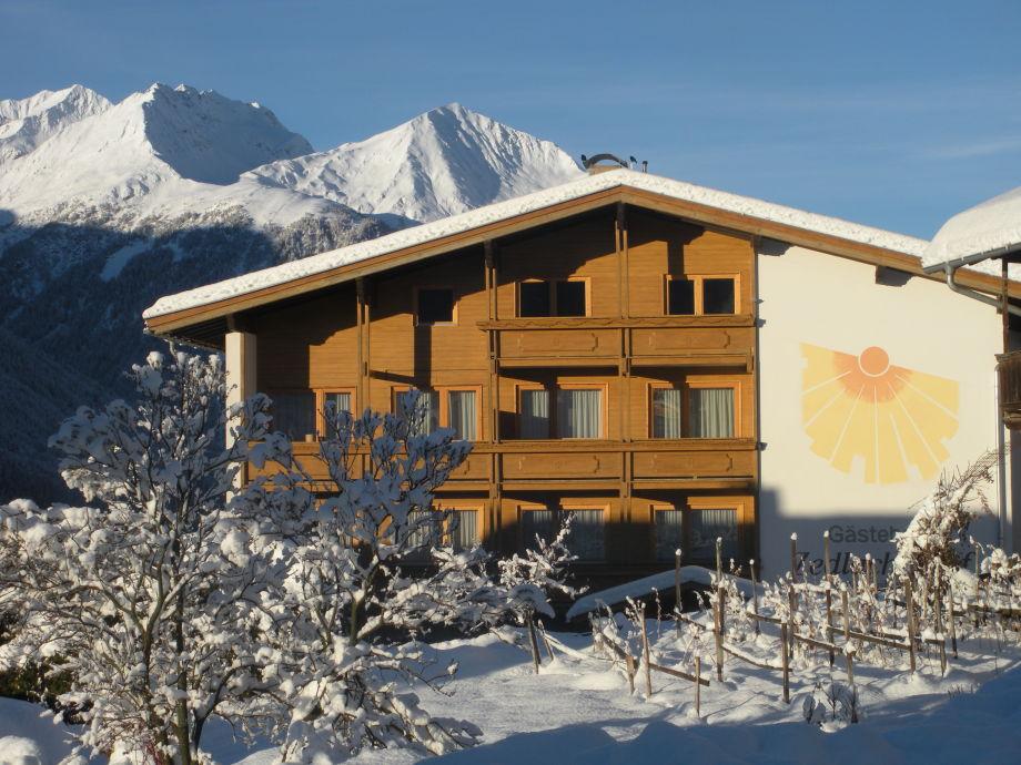 Ferienwohnung Zedlacherhof im Winter