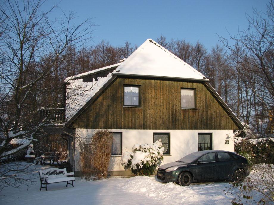 Ferienhaus Schmidt im Winter