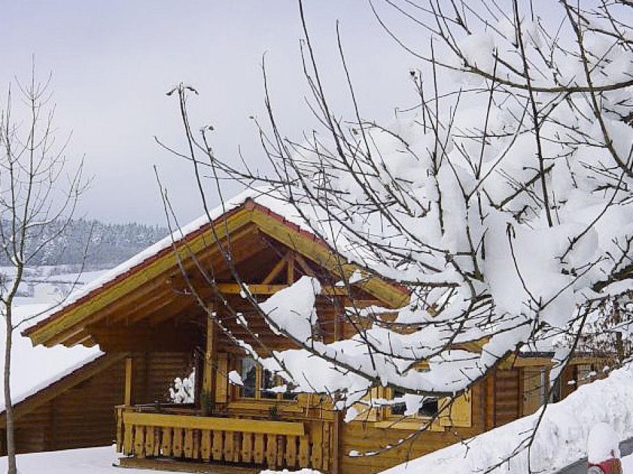 Das Feriendorf im Winter