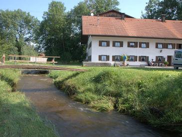Bauernhof in Roßhaupten/Allgäu, mit eigenem Angelsee