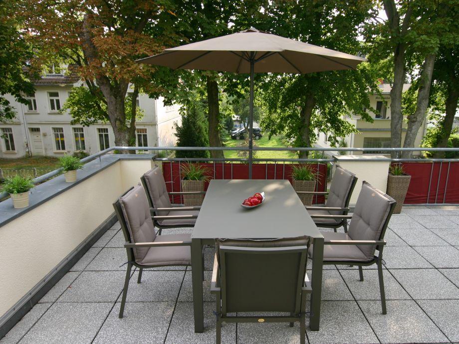 Terrassen-Essplatz Wohnung 5