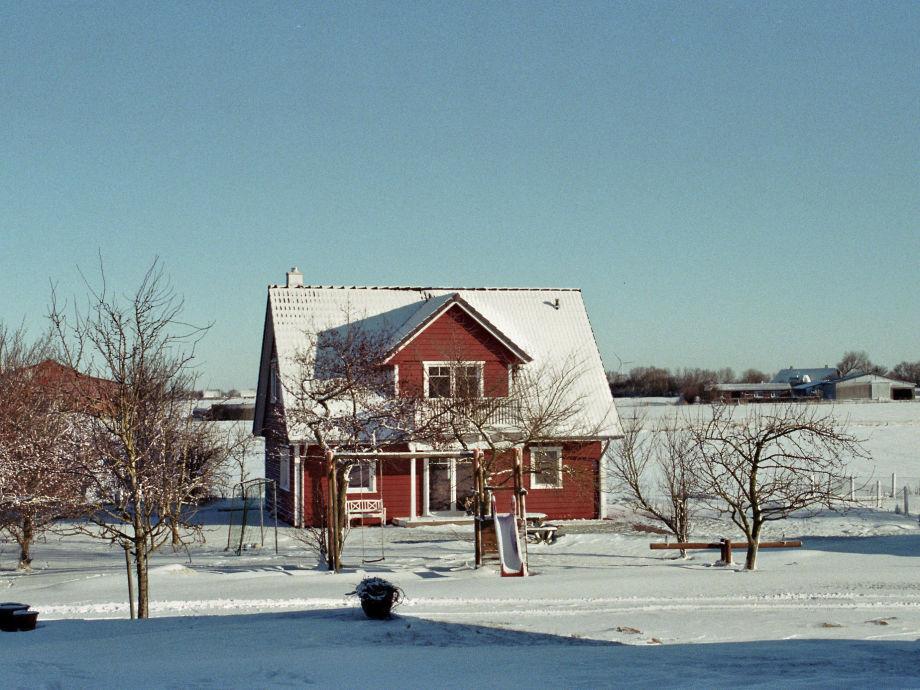 Das Landhaus Butendiek im Winter