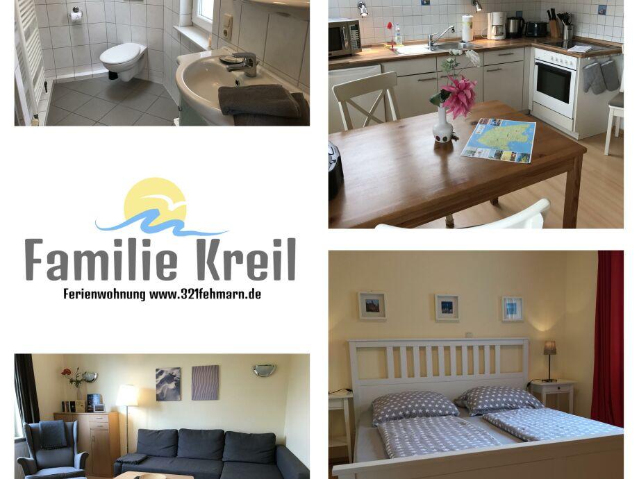 Fehmarn Ferienwohnung Familie Kreil