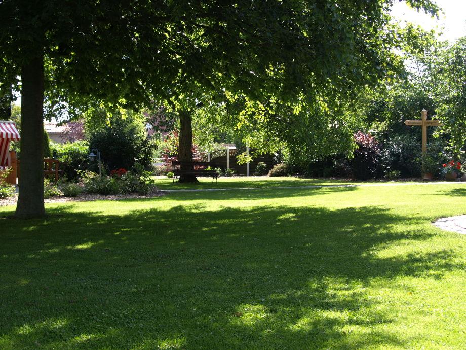 Bauerngarten auf dem Hof Haltermann