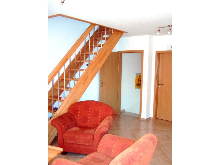 Treppenaufgang zum Schlafzimmer oben