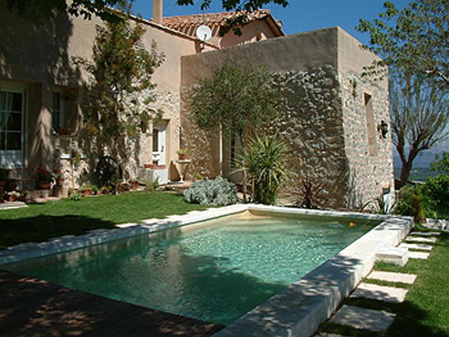 Ferienwohnung in einem Schloss mit Panoramablick