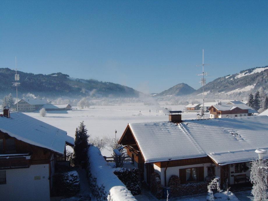 Winterstimmung vom Balkon