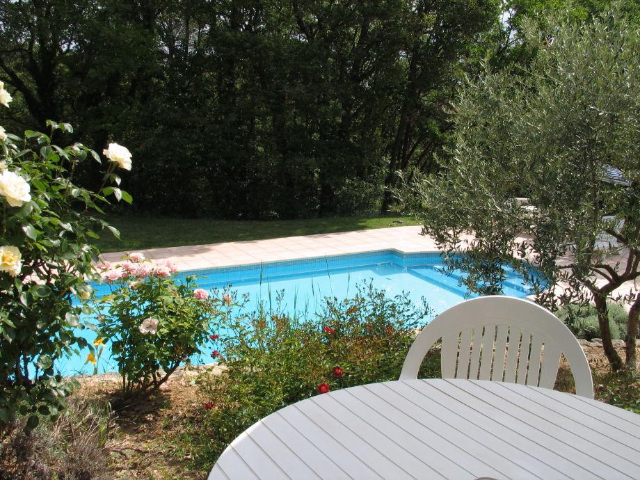 Kleine Ferienwohnung für 2 mit großem Pool