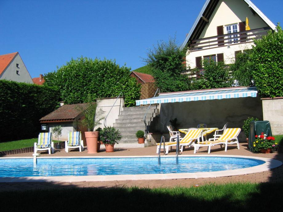 Das Haus und  der Pool