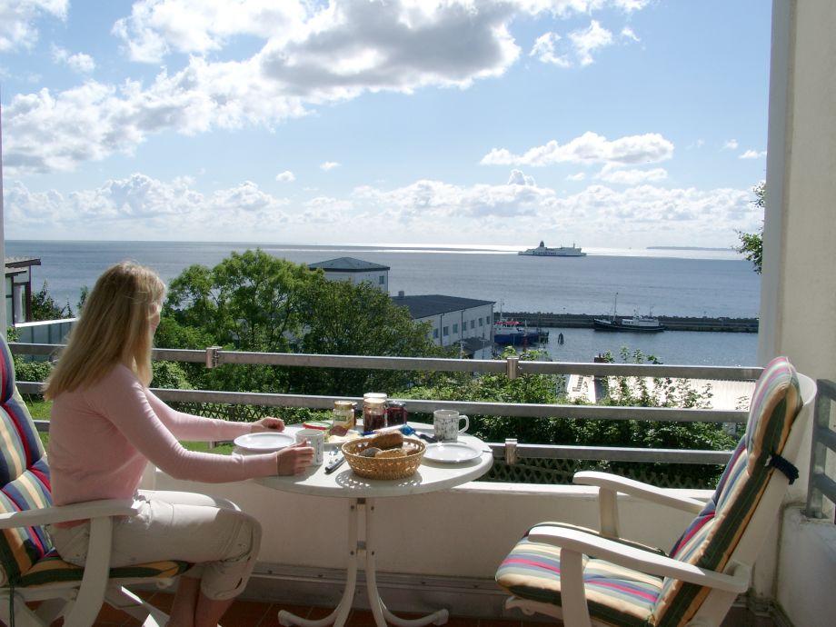 Ihr Meerblickfrühstück in der Ferienwohnung 'Meerblick-pur'